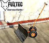 Плуг снегоочиститель на колесах FUXTEC, фото 6