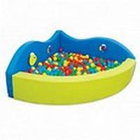 Сухой бассейн Китенок (угловой) для шариков