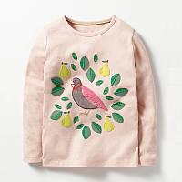 Кофта для девочки Птичка