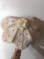 Шкатулка для хранения личных вещей в форме ракушки с жемчугом