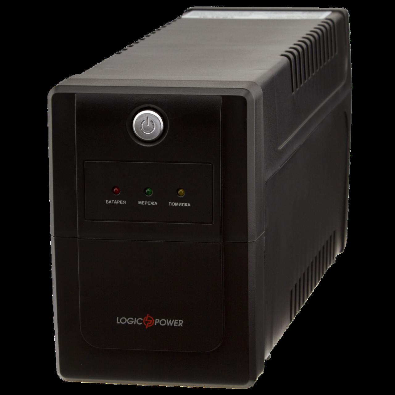 ИБП линейно-интерактивный LogicPower LPM-825VA-P