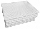 Полотенце вафельное, белое, 45*75см. 200г/м2, фото 2