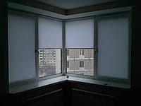 Ролеты тканевые (рулонные шторы) Len Besta mini открытый короб, фото 1