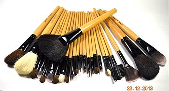Кисти для макияжа 24 шт. в чехле копия Boobi Brown