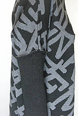 Вязане тепле плаття вільного крою , фото 3