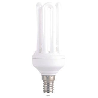 Энергосберегающая лампа (КЛЛ) DELUX Т2 4U 15ВТ 6400К Е14