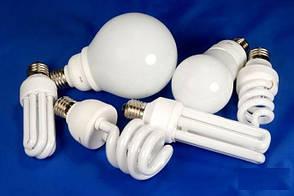 Энергосберегающая лампа (КЛЛ) DELUX Т2 4U 15ВТ 6400К Е14, фото 2