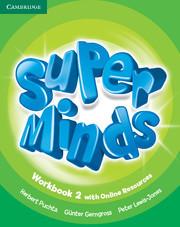 Super Minds 2 WorkBook + Online Resources