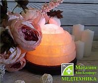 Соляная лампа «Полусфера» 6-7 кг