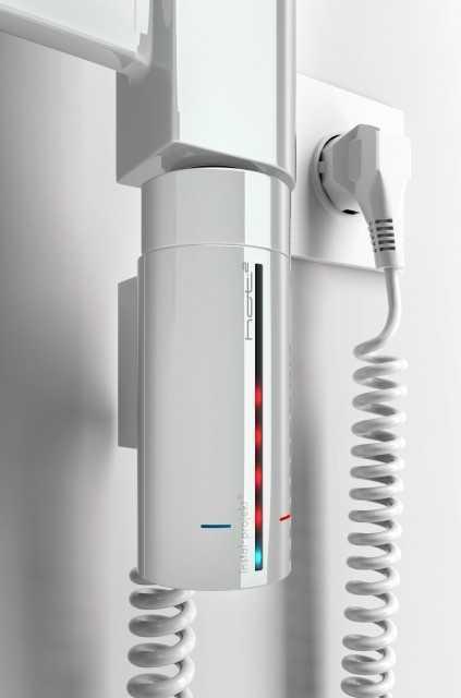 ТЭН для полотенцесушителей HOT 2 White с кабелем,300 W