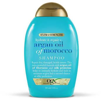 Увлажняющий и восстанавливающий шампунь с аргановым маслом OGX Hydrate + Repair Argan Oil of Morocco Shampoo