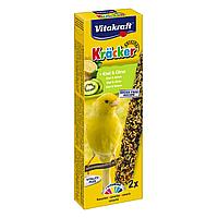 Лакомство для канареек Vitakraft «Kracker Original + Kiwi & Citrus» 2 шт. (киви и лимон) 21269