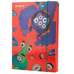 Папка для тетрадей на резинках Kite Jolliers K19-210, В5, картон