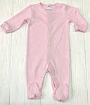 Детский комплект из трех единиц Разноцветные розовый+меланж+белый, фото 2