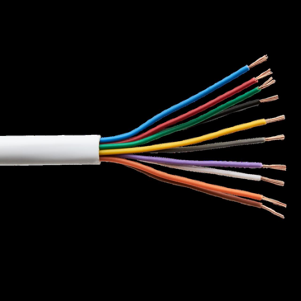 Сигнальный кабель GreenVision КСВП CCA 10x7/0.22 неэкранированный бухта 100м