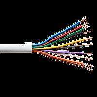 Сигнальний кабель GreenVision КСВП CCA 10x7/0.22 неекранований бухта 100м