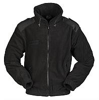 Куртка флисовая  армейская  черная  Mil-Tec Германия