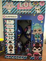 Кукла LOL в шаре LUMINOUS 6шт комплект , Кукла LOL светящаяся сюрприз  набор