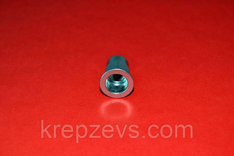 Гайка М5/2.0-4.0 D7 оцинкованная