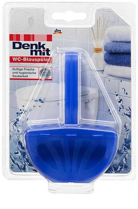 Гигиенический блок с таблеткой для подсинивания воды Denkmit 40гр, фото 2