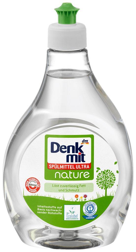 Жидкость для мытья посуды Denkmit Nature 500мл