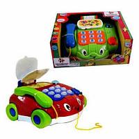 Развивающая игрушка каталка - телефон 7068 JOY TOY , (муз, свет), фото 1