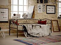 Металлическая односпальная кровать Верона Люкс, фабрика Метакам