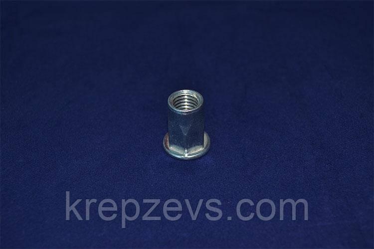 Гайка М6/2.5-4.5 D9 оцинкованная