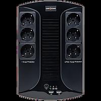 ИБП линейно-интерактивный LogicPower LP 650VA-6PS, фото 1