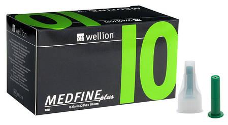 Иглы инсулиновые Wellion Medfine 10мм, 30G - Веллион Медфайн 10мм, фото 2