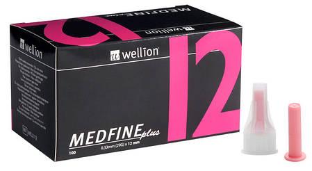 Иглы Wellion Medfine Plus - Веллион Медфайн 12мм, 29G для инсулиновых шприц-ручек, фото 2