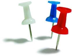 Кнопки-гвоздики Economix, 36 шт.