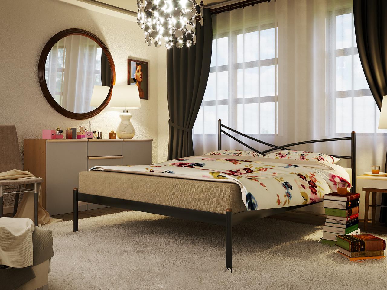 Кровать металлическая Лиана / Liana, фабрика Метакам