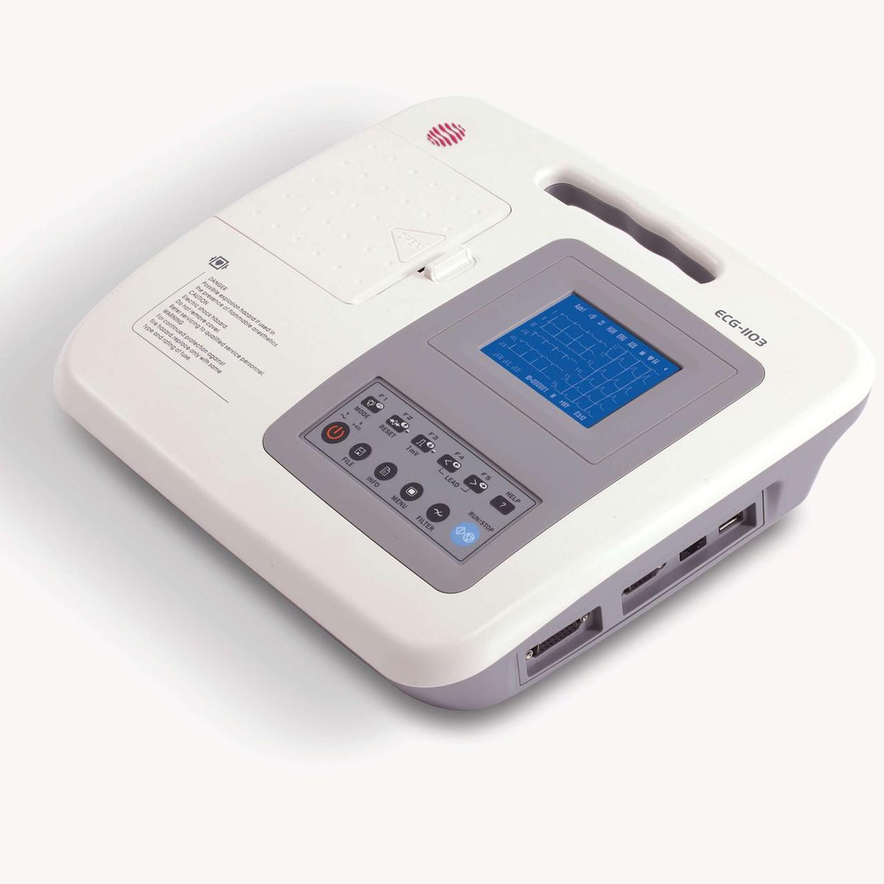 Ветеринарный электрокардиограф ECG-1103 12-канальный