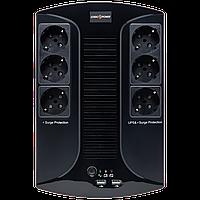 ИБП линейно-интерактивный LogicPower LP 850VA-6PS, фото 1