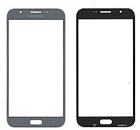 Стекло дисплея Samsung J730 Galaxy J7 2017 темно серый