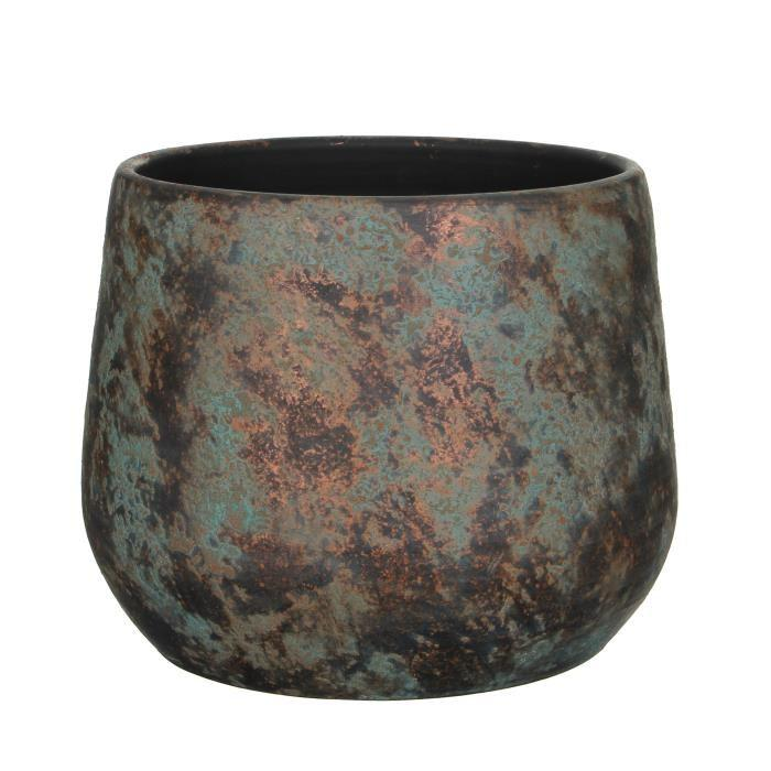 Кашпо MICA CLEMENTE POT ROUND  - COPPER 1034811-EDL