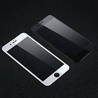 Стекло 5D Iphone 5/5S/SE/6/6S/7/8/X/Plus (черный/белый)