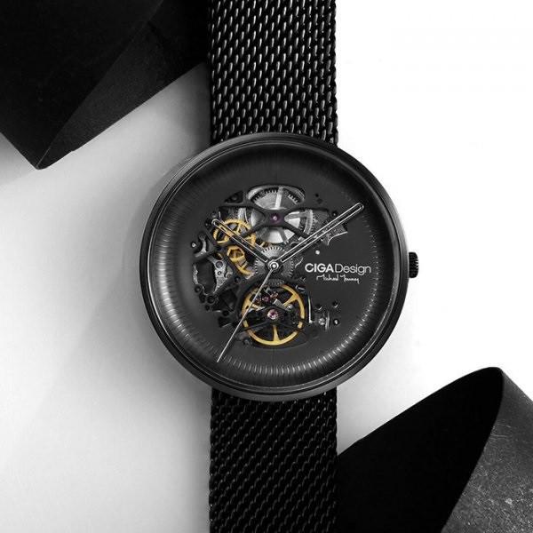 Часы CIGA Mechanical Watch MY Series Black Гарантия 12 месяцев