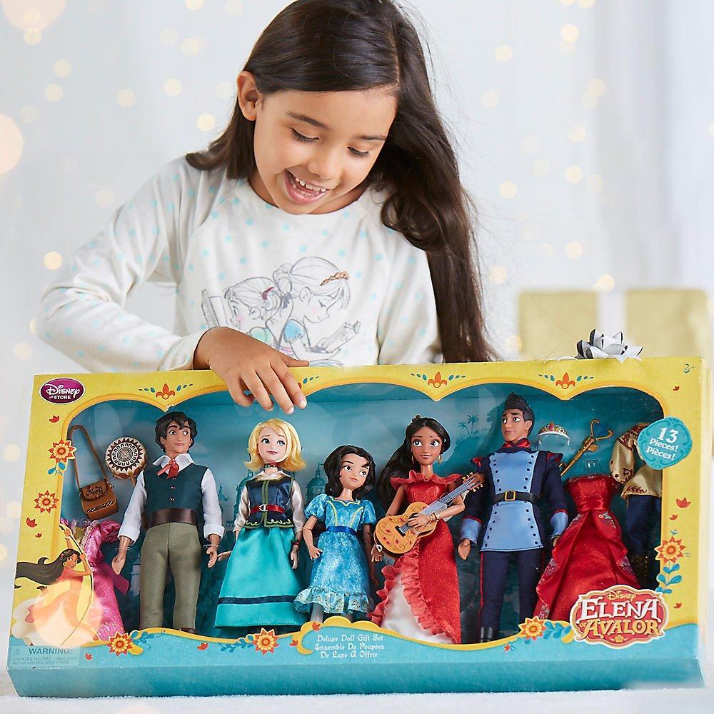 Подарочный набор Делюкс Елена принцесса из Авалора 5 кукол ДИСНЕЙ / DISNEY