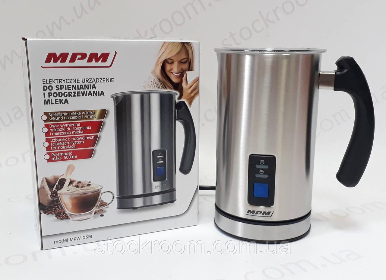 Вспениватель молока  MPM MKW-03M