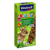 Лакомство для кроликов Vitakraft «Kracker Original + Vegetable & Beetroot» 2 шт. (овощи) 25015
