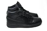 Зимние кроссовки (на меху) мужские Nike Air Jordan 1-067 (реплика)