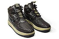 Зимние кроссовки (на меху)  мужские Nike Air Max 1-094 (реплика)