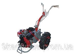 Мотоблок Мотор Сич МБ-6ДE (дизель 6 л.с. с электростартером, WEIMA WM178FE)