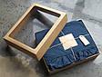 КПБ 200x220 LIMASSO DRESS BLUE EXCLUSIVE, фото 4