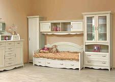 Модульна спальня Селіна вільха зелена Світ Меблів