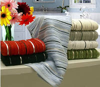 Бамбуковое  полотенце махровое Arya  Floslu 90х150