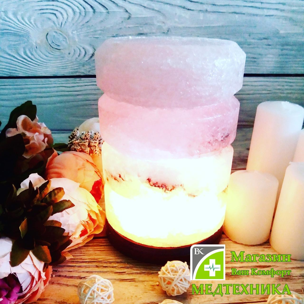 Соляная лампа «Свеча» 4-5 кг