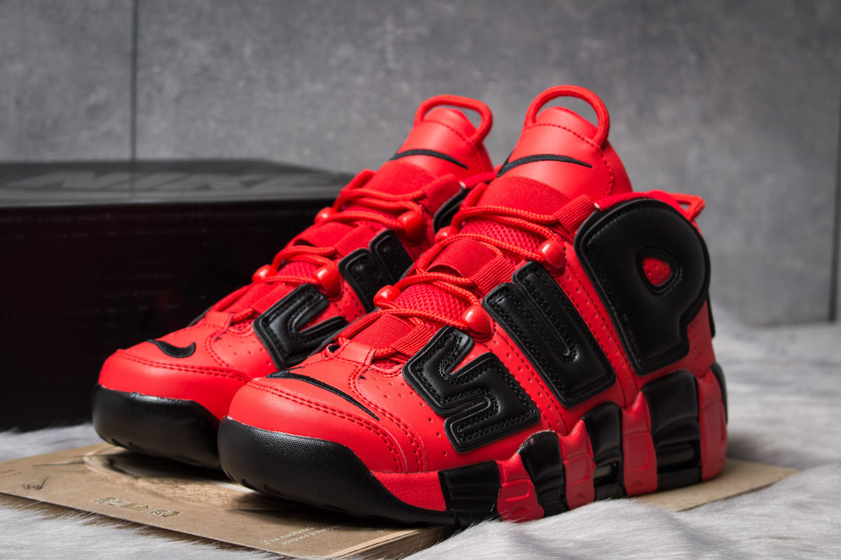 78d68f9d Кроссовки мужские Nike Supreme Air More Uptempo, красные (14802), [ 41 42